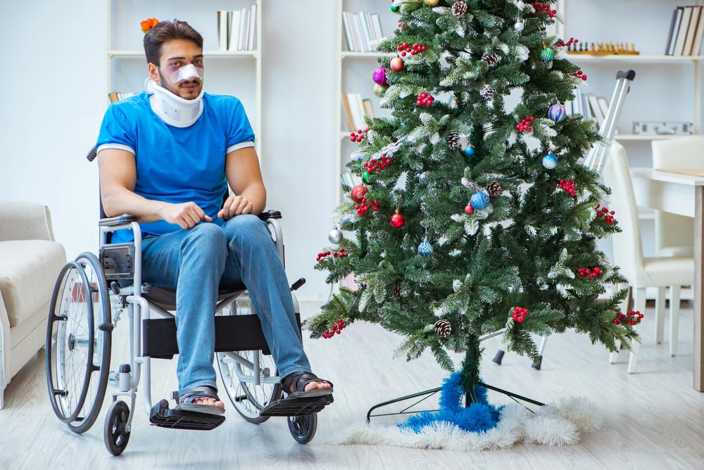 Christmas and Winter Holiday Accident Injuries in Aurora IL