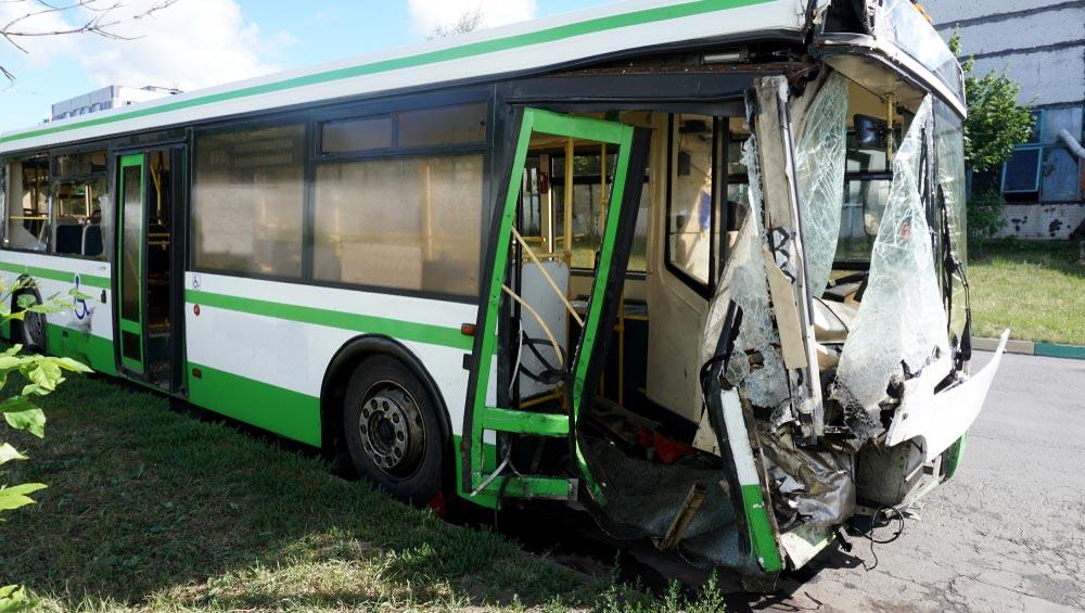 Bus accident in Illinois