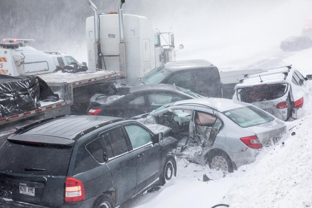 multi-car accident in illinois
