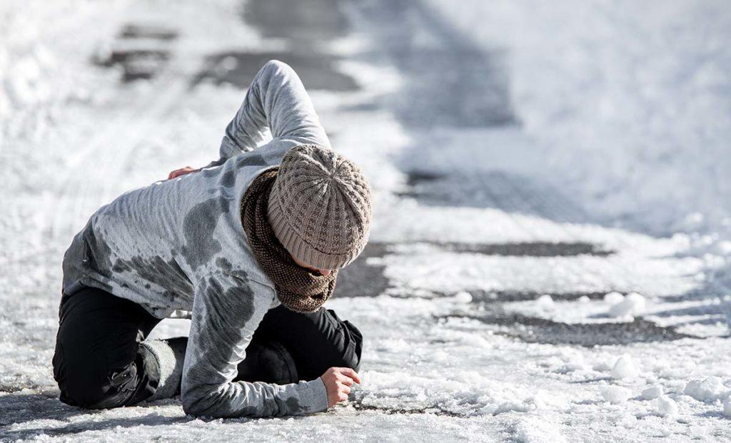 snow fall injury