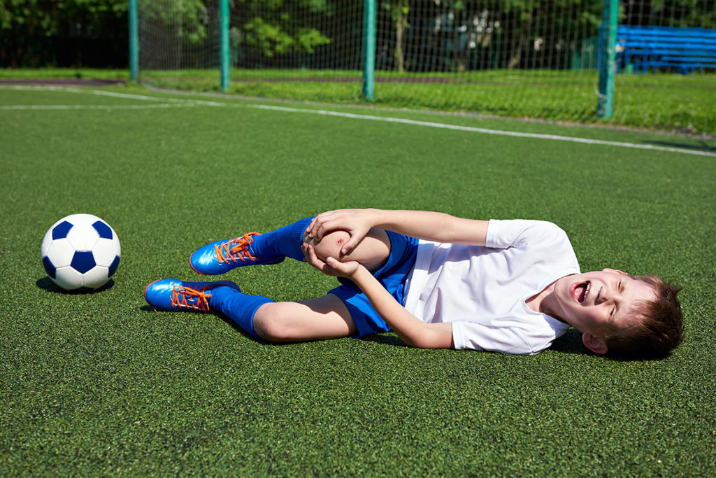 Sports injuries and your child